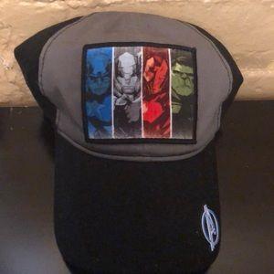 Marvel Avengers Unite Characters Ballcap